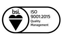 BSI ISO 1400 logo